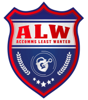 Accomms Least Wanted Logo
